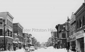 Main Street Pittston, c.1950. Mike Savokinas Collection (MS0349c), Greater Pittston Historical Society, Pittston, PA.